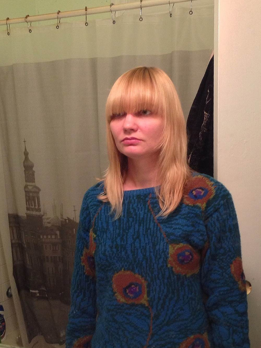 how to style your hair when how to cut bangs bike pretty 7217