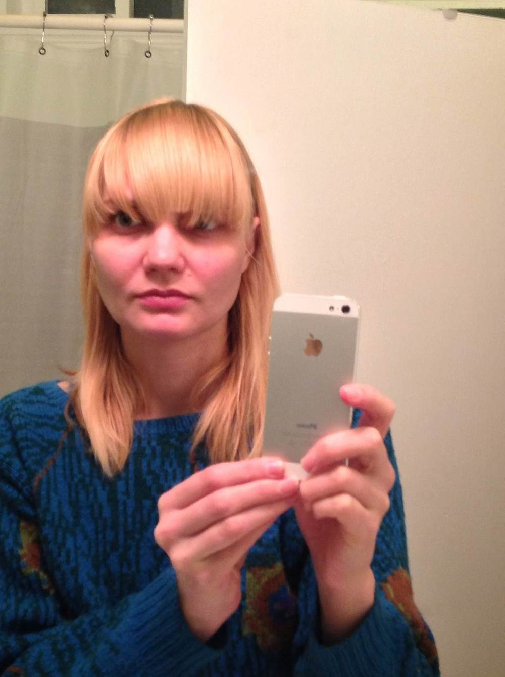 How To Cut Bangs