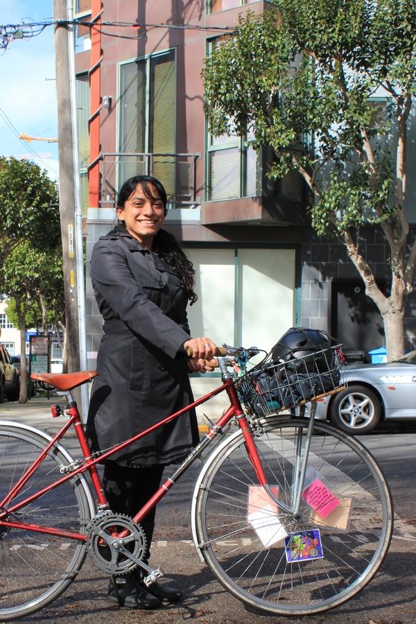 bikepretty, bike pretty, cycle style, cycle chic, bike model, girl on bike, bike fashion, bicycle fashion, bicycle fashion blog, cute bike, vintage, girls on bikes, model on bike, calitexican, change your life ride a bike, red mixte
