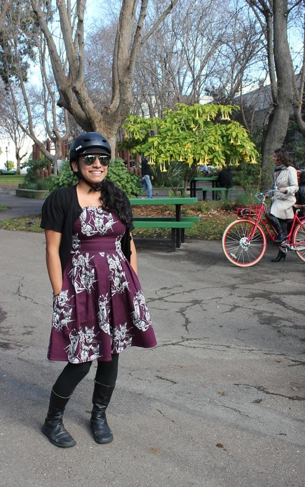 bikepretty, bike pretty, cycle style, cycle chic, bike model, girl on bike, bike fashion, bicycle fashion, bicycle fashion blog, cute bike, vintage, girls on bikes, model on bike, bike in a dress