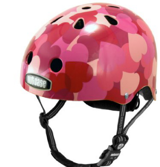 bikepretty, bike pretty, cycle style, cycle chic, valentines day, valentine's day, valentine's, valentines, valentine's gifts, valentines gifts, amazon, one day shipping, last minute, gifts, gifts for her, gifts for him, nutcase, love bike helmet, hearts helmet, hearts