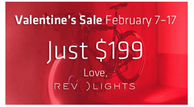 revolights, valentine, valentine's, sale