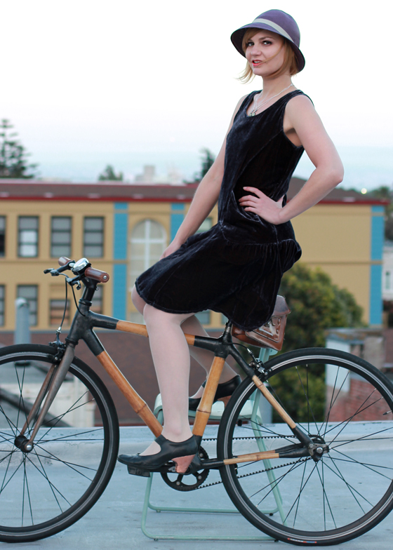 bike pretty, bikepretty, pretty bike, girls on bikes, outfit ideas, cycle style, fashion bike, bike fashion, bike chic, bike style, girl on bike, bike lady, cycle chic, gatsby, 20s, flapper, twenties, flapper dress, bike in a dress, bicycle chic