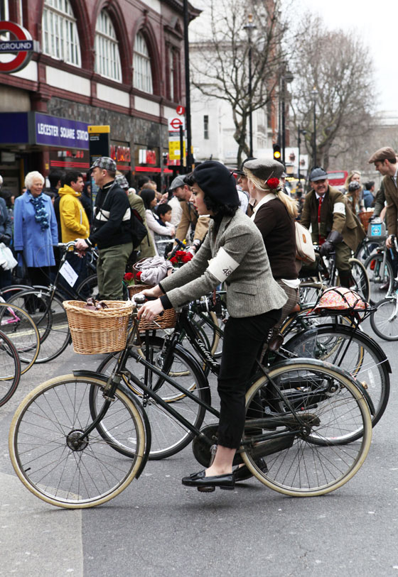 Miss Jeni Yesterday at the London Tweed Run 2013