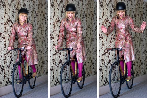 bike pretty, bike pretty, pretty bike, girls on bikes, cool bike helmets, cute bike helmets, girls on bike, cycle style, fashion bike, bike fashion, bike chic, chic bike, bike in a skirt, bike style, outfit ideas, girl on bike, bike lady, cycle chic, etro, paisley