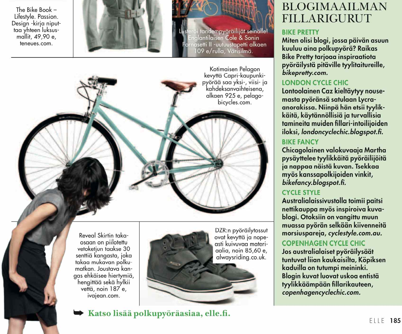 bike pretty, bike pretty, pretty bike, girls on bikes, outfit ideas, cycle style, fashion bike, bike fashion, bike chic, chic bike, bike style, girl on bike, bike lady, cycle chic, toukokuu 2013, elle, elle finland, iva jean