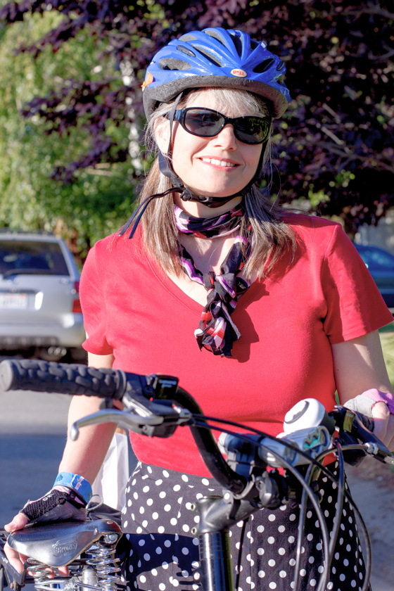 bike pretty, bikepretty, pretty bike, girls on bikes, outfit ideas, cycle style, fashion bike, bike fashion, bike chic, bike style, girl on bike, cycle chic, outfit of the day, bike mom, bike in a skirt, cameo bike bell, polka dots, i love my mom, pretty mama, bike lady