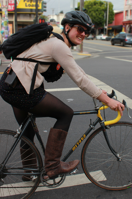 bike pretty, bikepretty, pretty bike, girls on bikes, outfit ideas, cycle style, fashion bike, bike fashion, bike chic, bike style, girl on bike, cycle chic, bike to work, bike to work day, san francisco, street style, miyata seventeen, miyata 17, miyata bike, cute bike girl