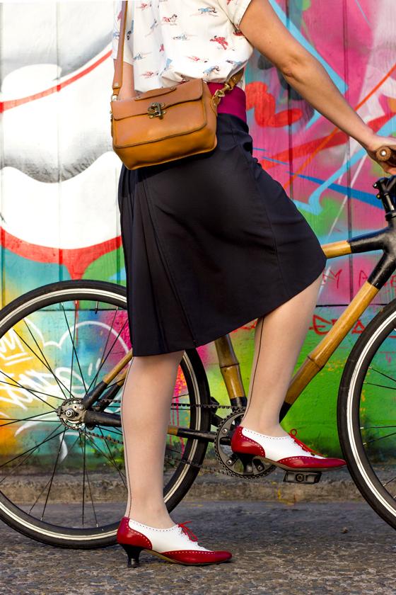 Bike In A Skirt The Pencil Skirt Challenge u2014 Bike Pretty