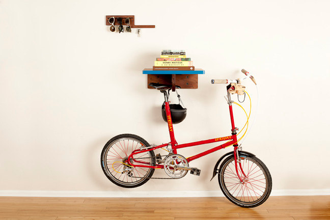 How To Hang Bike On Wall mailbag: how to store bikes at home - dutchies & mixtes — bike pretty