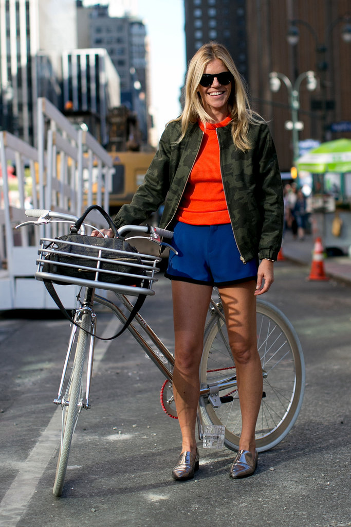 bike pretty, bikepretty, pretty bike, girls on bikes, cycle style, fashion bike, bike fashion, bike chic, bike style, cycle chic, new york fashion week, 2014, nyfw14, nyfw, street style, new york, fashion week, martone, martone cycling co.