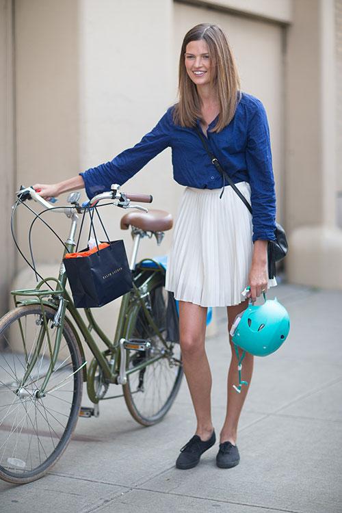 bike pretty, bikepretty, pretty bike, girls on bikes, cycle style, fashion bike, bike fashion, bike chic, bike style, cycle chic, new york fashion week, 2014, nyfw14, nyfw, street style, new york, fashion week, bette frank