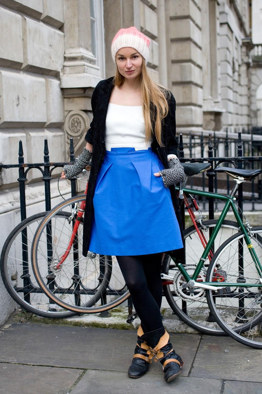 katherine poulton, fashion designer, london, fashion week, street style, ss14, london fashion week, bike pretty, bikepretty, pretty bike, cycle style, fashion bike, bike fashion, bike chic, bike style, cycle chic, outfit ideas
