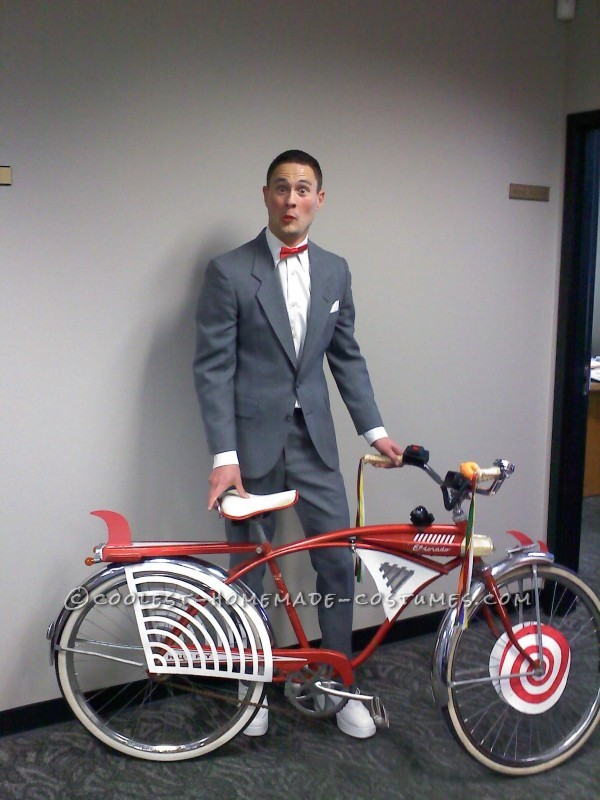 pee wee herman, pee wee, pee wee costume, halloween bike, halloween costume ideas, bike friendly halloween costume, halloween costume bike, happy halloween by bike, happy halloween, bike pretty, bikepretty, pretty bike, cycle style, fashion bike, bike fashion, bike chic, bike style, cycle chic, outfit ideas