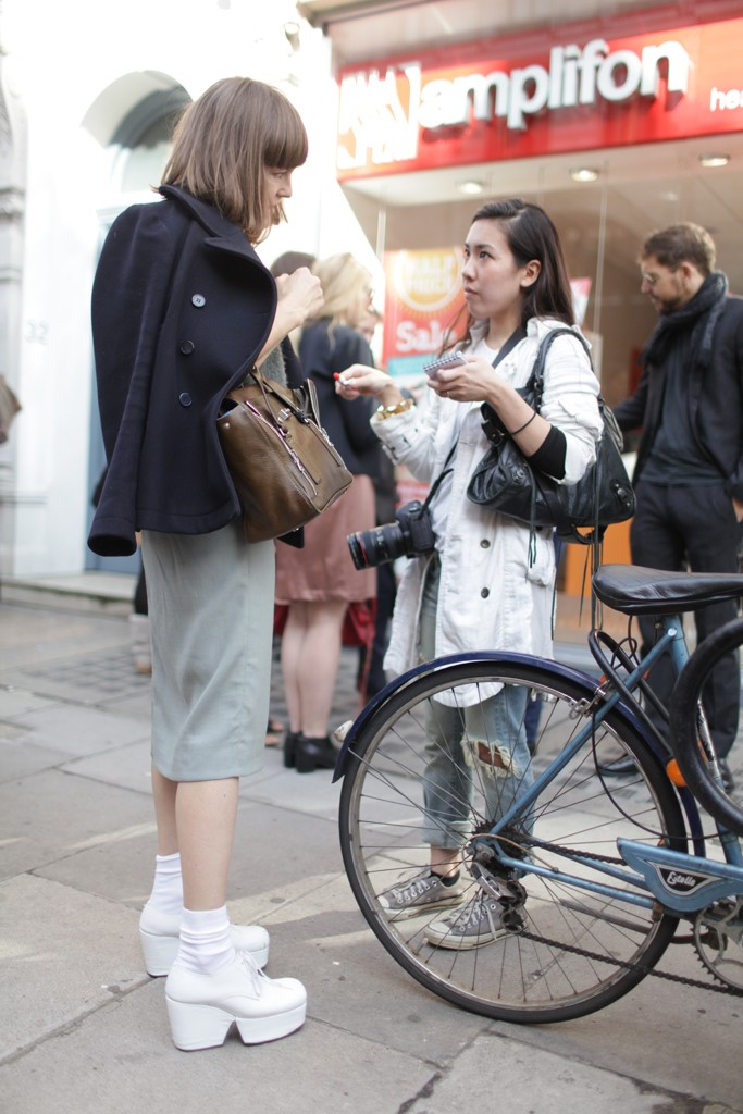 london, fashion week, street style, ss14, london fashion week, bike pretty, bikepretty, pretty bike, cycle style, fashion bike, bike fashion, bike chic, bike style, cycle chic, outfit ideas