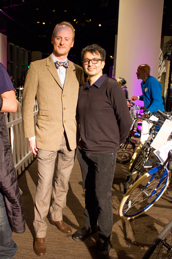 Bike Fashion: Menswear at the SFBC Winterfest 2013