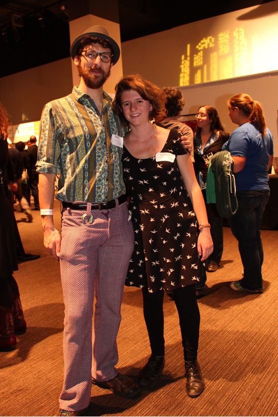 Bike Pretty, Bike Fashion: Cute outfits of SFBC Winterfest Volunteers