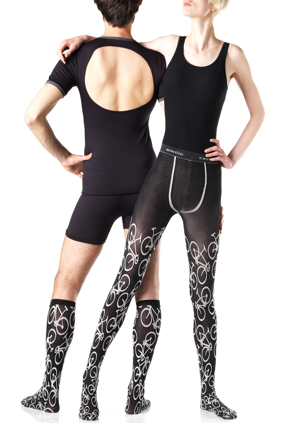 bike fashion - bike motif socks by emilio cavallini