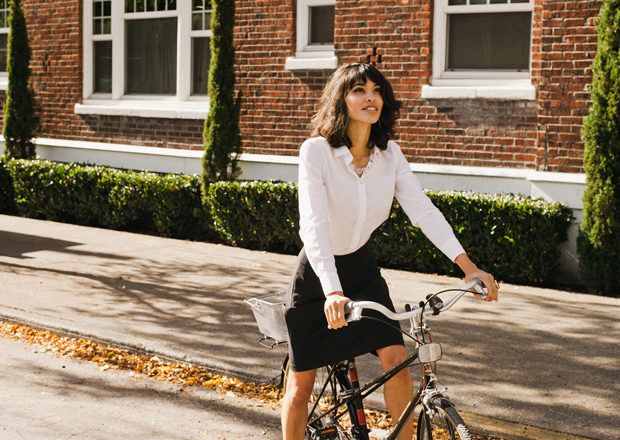 Step up your bike fashion, enter to win the Iva Jean Reveal Skirt!