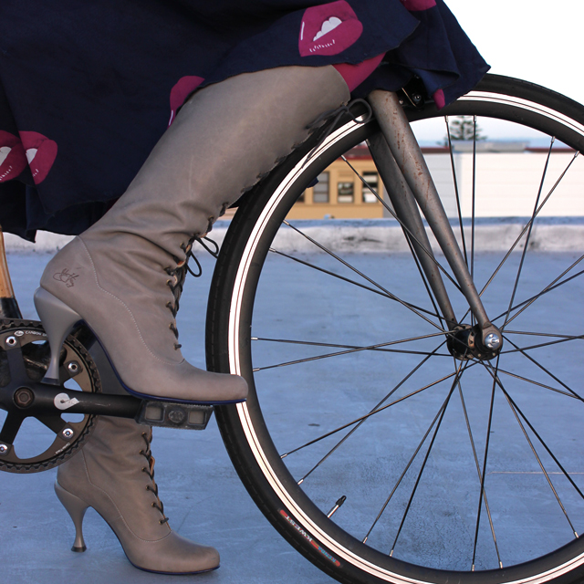 Why I Bike in Heels