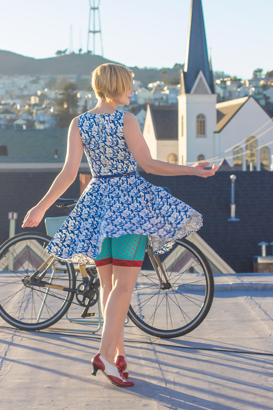 Bike Fashion: Twirl Girl with ModCloth — Bike Pretty