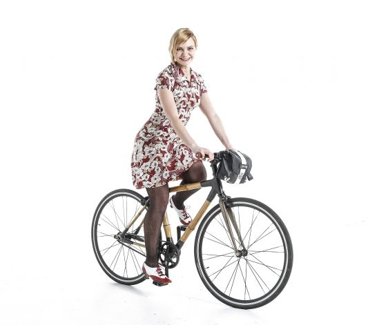 Melissa Davies, bicycle handbag designer, San
