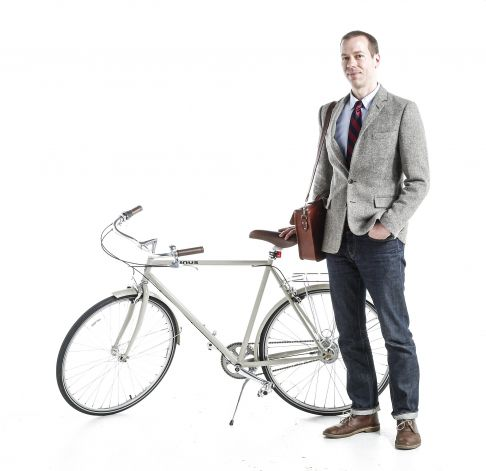 Kevin C. Smith San Francico Bike Fashion