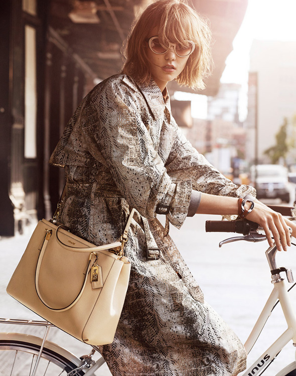 Coach-SS14-Karlie-Kloss-campaign-bike-fashion-bike-pretty-0