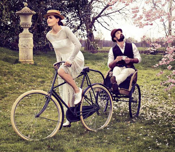 Victoria-Pendleton-Evgeny-Lebedev-London-Evening-Standard-21-March-2014-bike-fashion-bike-pretty-photo-Rupert-Peace-3