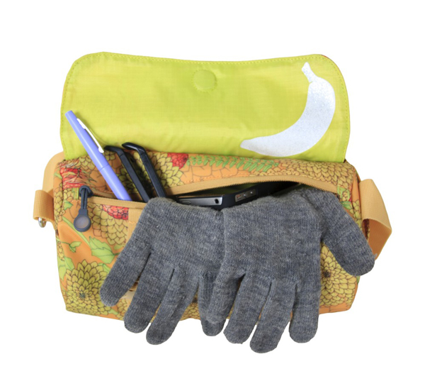 Contents of the bag not included in the giveaway. Buy your own damn gloves.