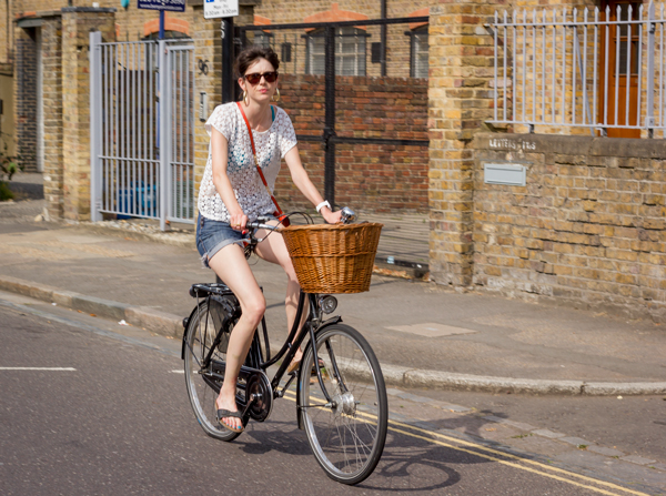 London Bike Fashion