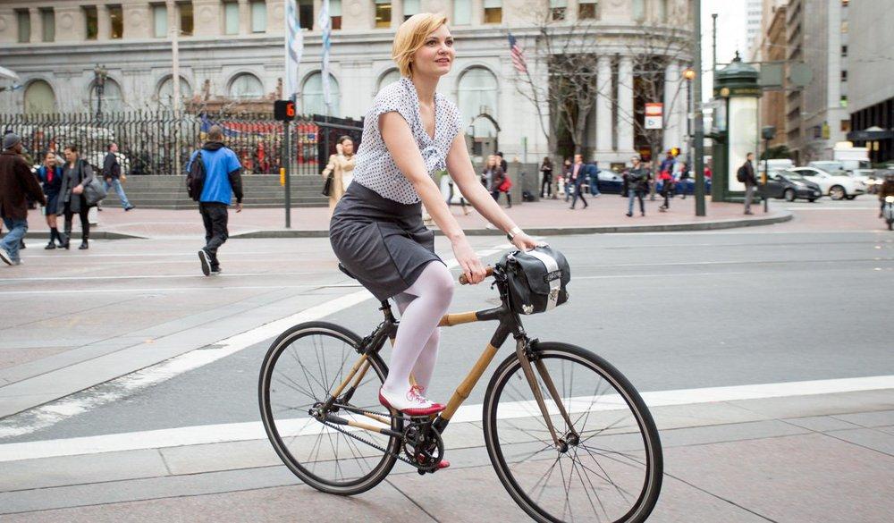 Bike Pretty in Downtown San Francisco