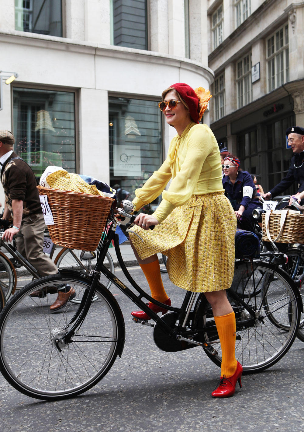 London Tweed Run Most Dashing Dame