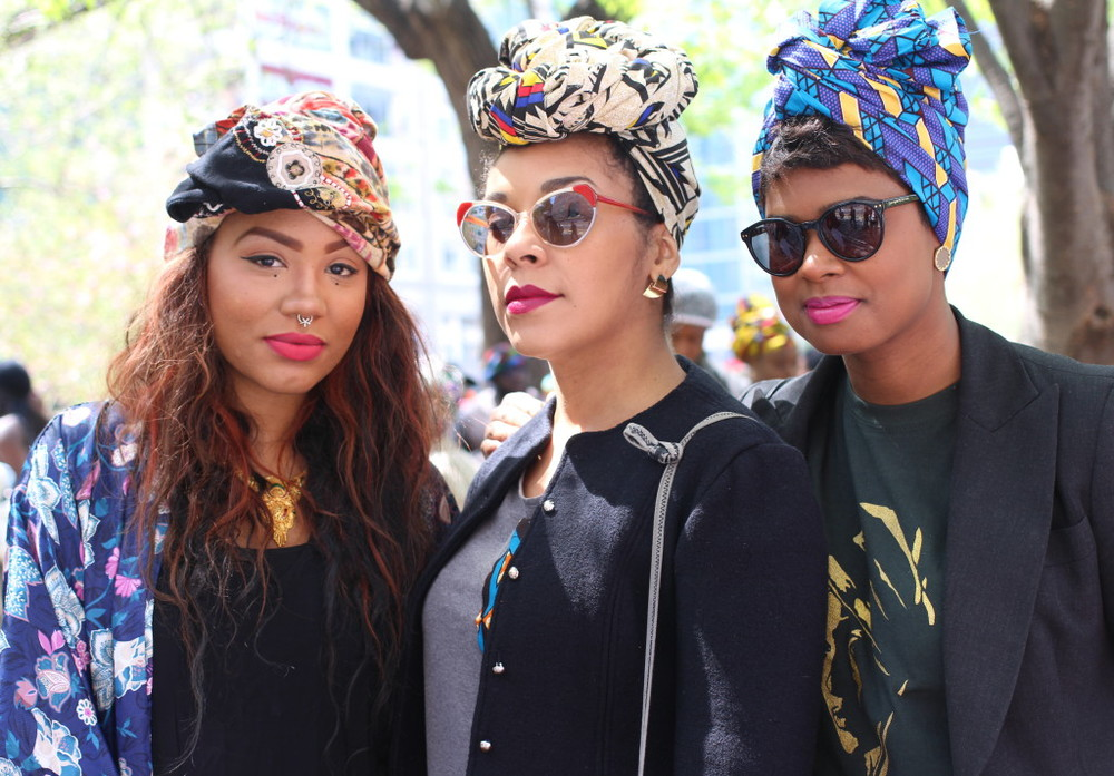 fashion history head wraps and hoodies
