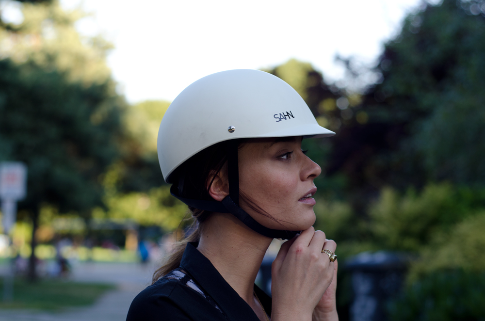 Bike Helmets For Women Stylish SAHN Classic Helmet