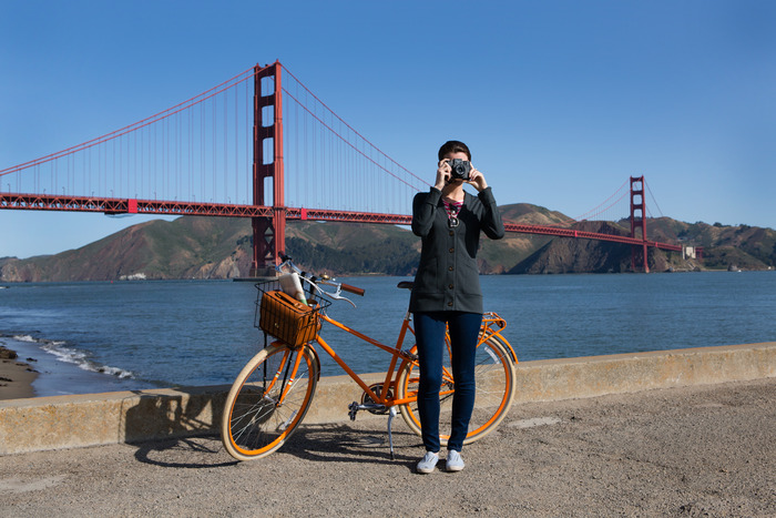 Ilk Outerwear has made the perfect cardigan for your San Francisco bike style.