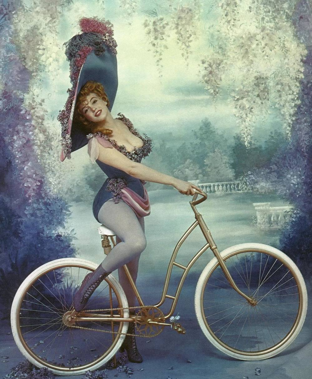 Marilyn Monroe dressed as stage performer Lillian Russell, 1958. Photo by Richard Avedon.