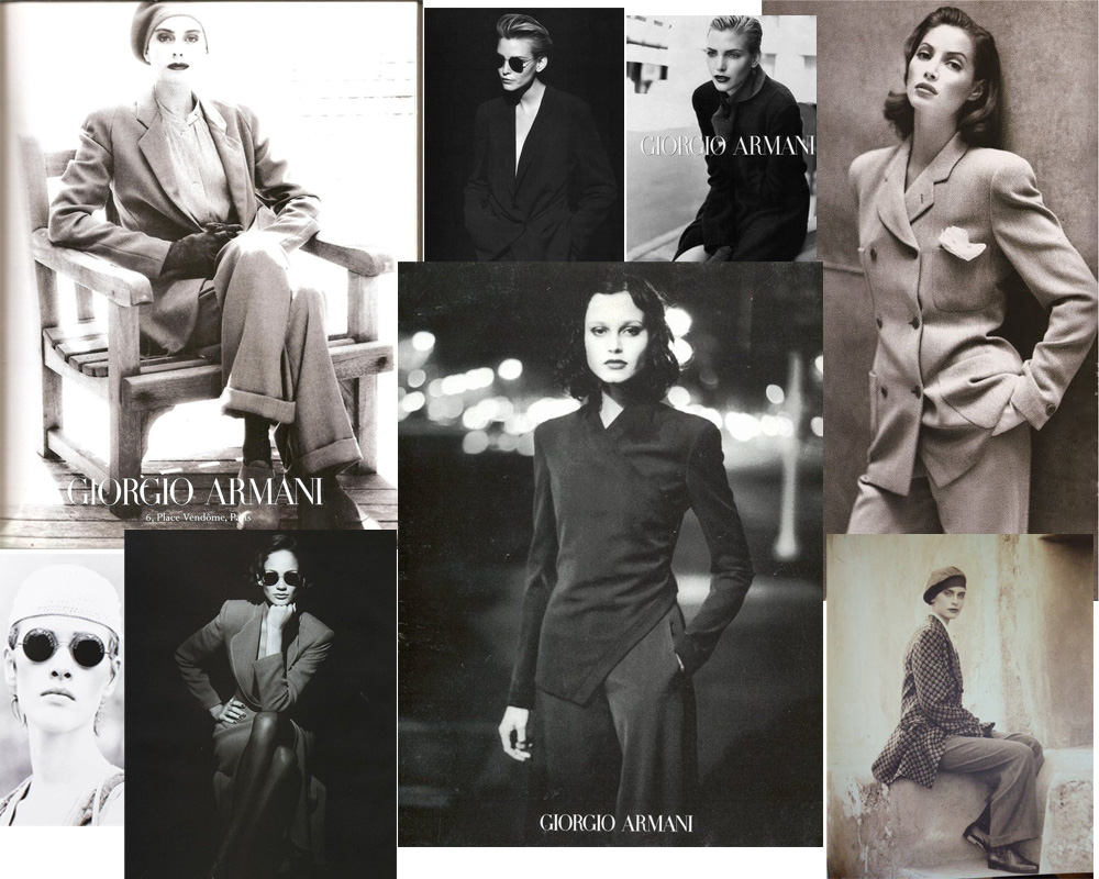 Aldo Fallai x Armani perfection. Scope more of his work on this Italian website designed in the dark ages of the internet, or make it easier on yourself and just head to Pinterest or Tumblr.