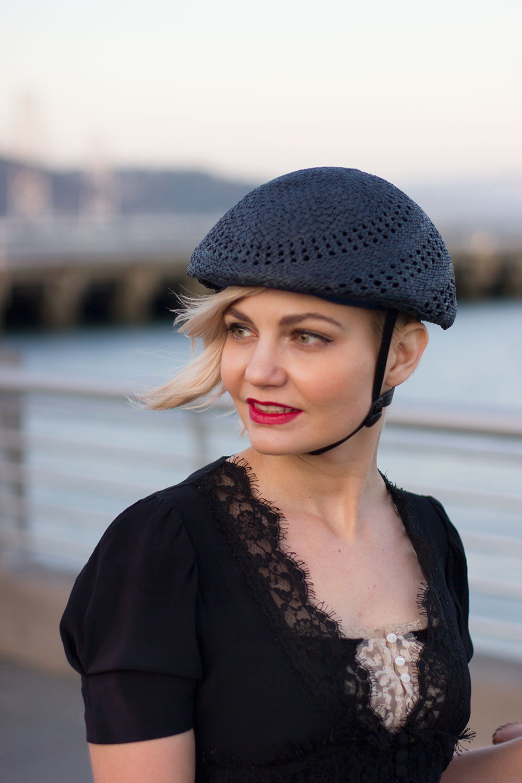 helmets look like hats