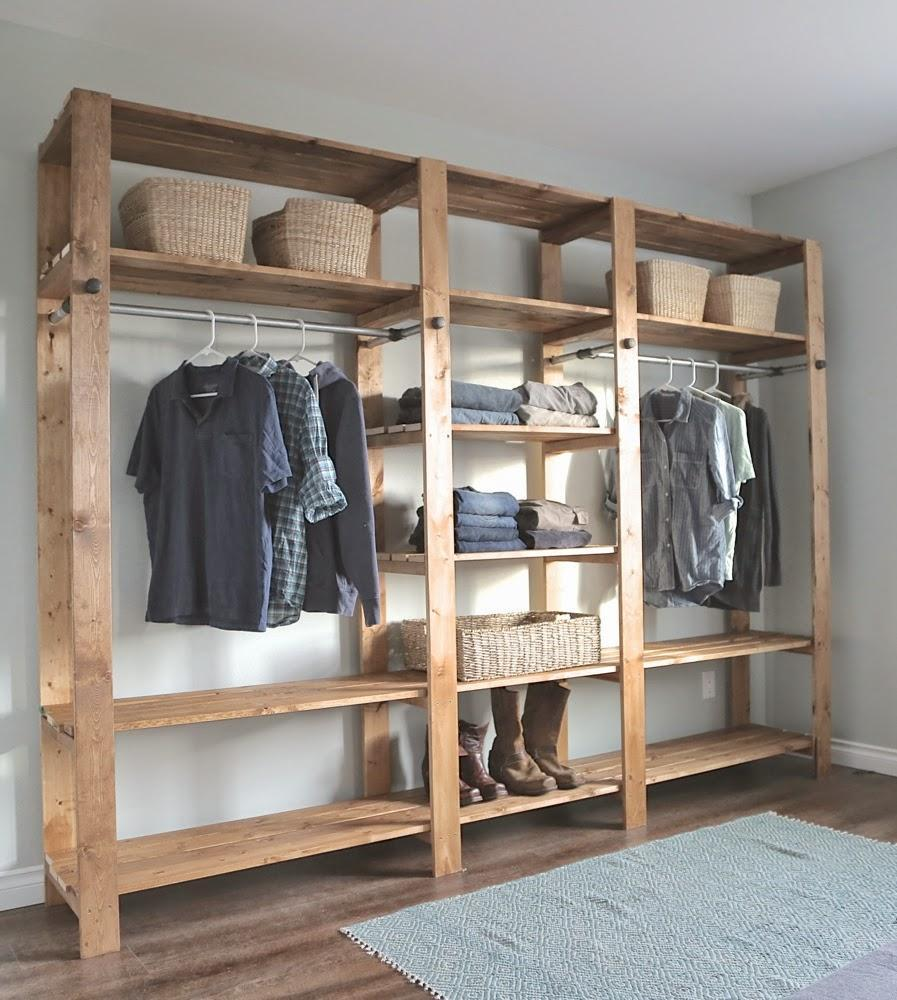 diy closet room. When Your Home Doesn\u0027t Come With Built In Closet Space, What Do You Do? Build Own, Of Course. This Works Best Larger Bedrooms, But Can Scale Diy Room O