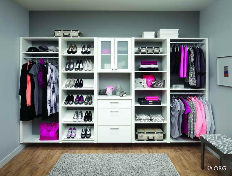 Charmant This One Walled Closet Unit Has It All: Clothes Rails, Drawers, Shelves,  And Even Shoe Racks. The DIY Project For A Unit Like This Is Likely To Be  Fairly ...
