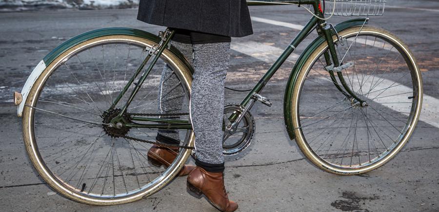 Winter weather bike clothes from Riyoko.ca