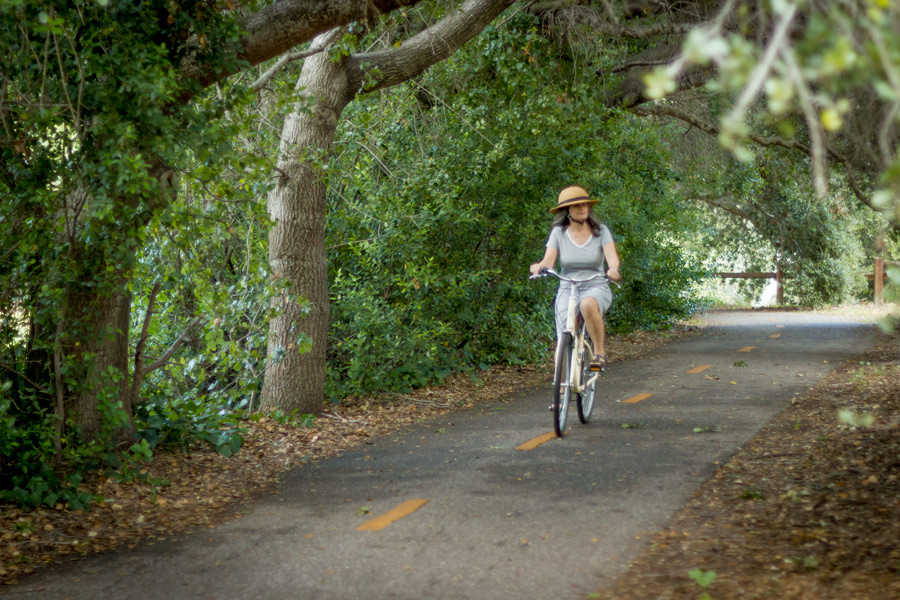 One of our favorite trails for family bike rides.
