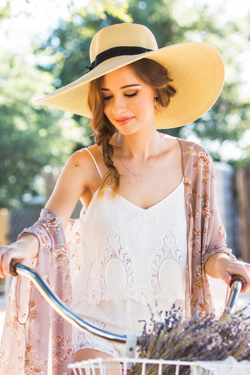 28 Ways to Wear a Straw Hat – Bike Pretty 41d03114b3e