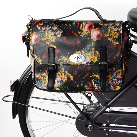 Mme Velo Special Flower Bike Bag