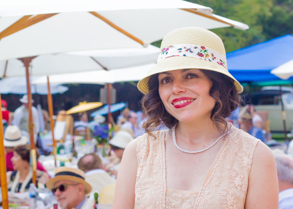 Such a beauty, inside and out! Melinda is organizing the  San Francisco Tweed Ride this year . Click the link for more info.