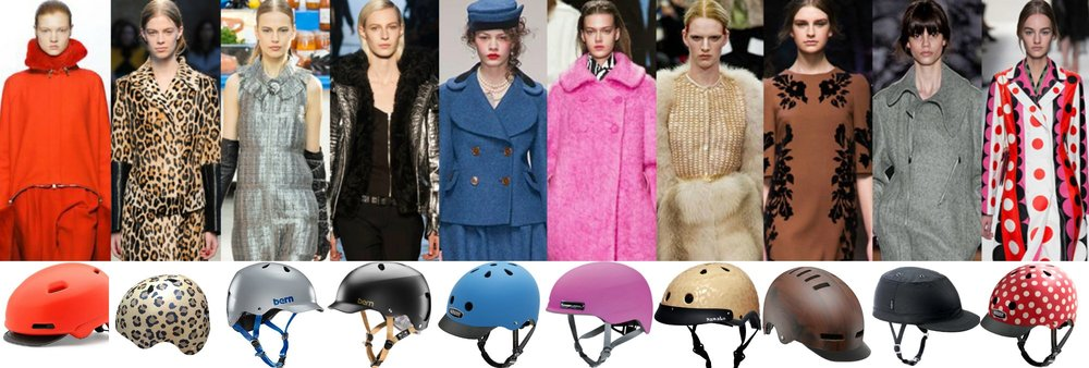 10 Chic Helmets Inspired by the Fashion Runway