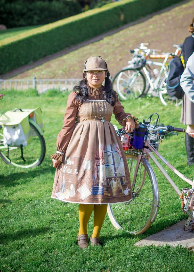Jill Quindiagan's Sherlock Holmes inspired Lolita fashions.