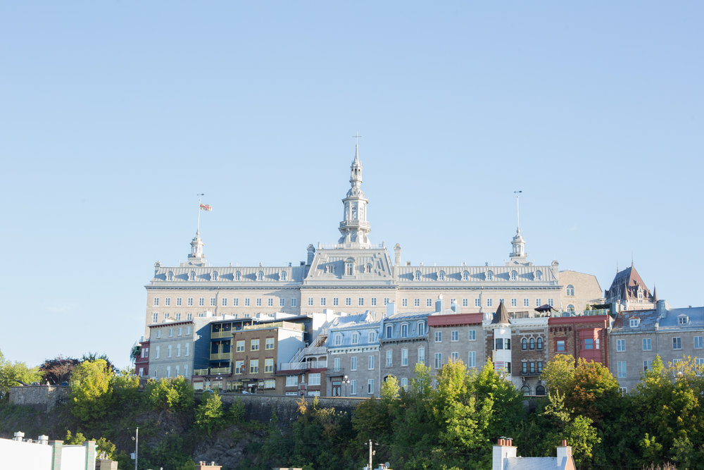 The beautiful Quebec City