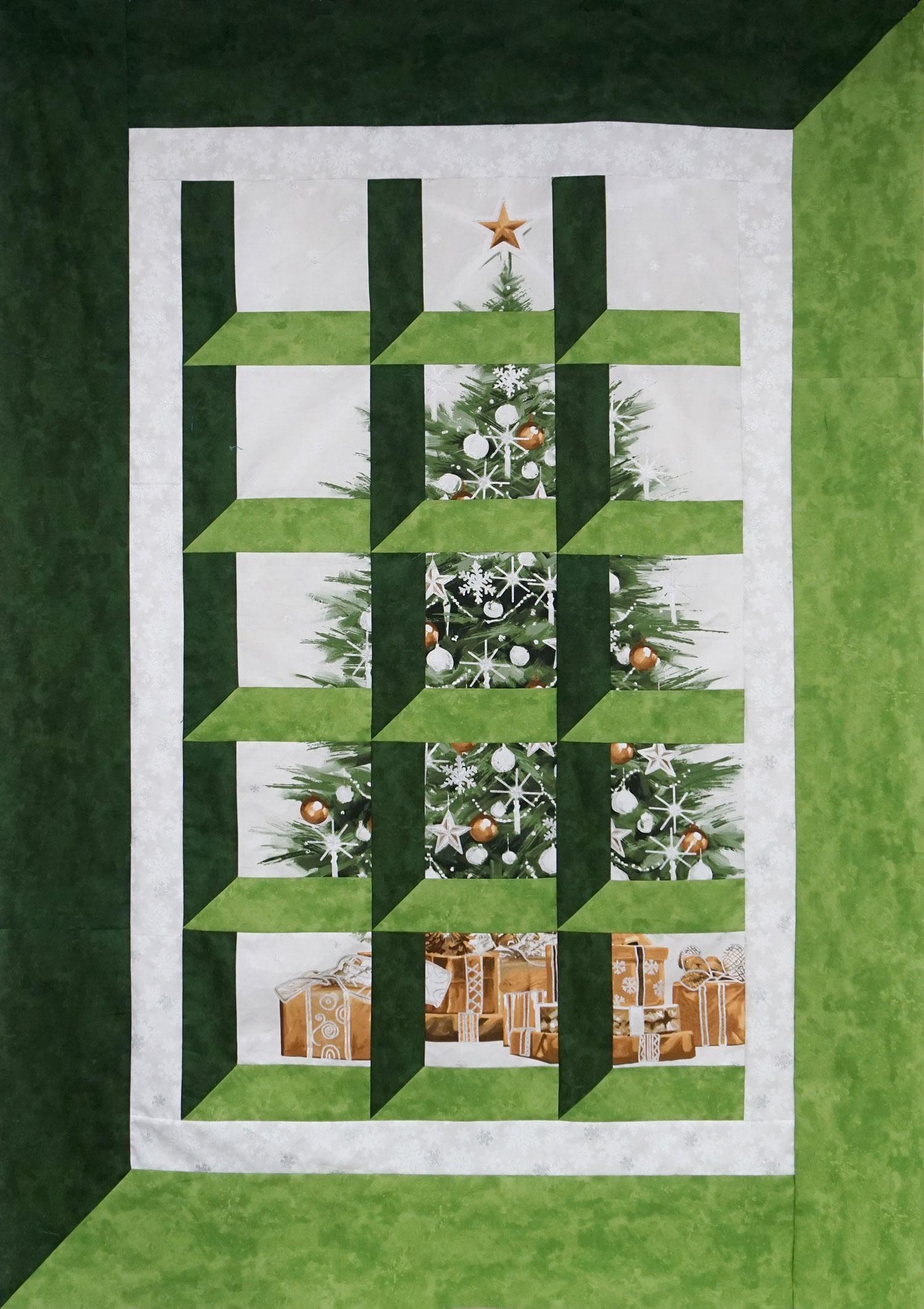 Christmas Attic Window Quilt Pattern.Attic Windows Annie S Quilting Den Quilt Store